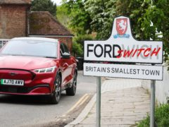 Ford has challenged Fordwich to go electric