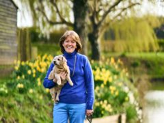 Fee Sharples with Inca (Britain's Next Top Dog/PA)