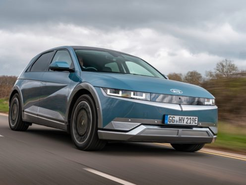The Ioniq 5 features a range of up to 300 miles