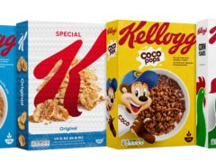 Kellogg's has pledged to cut sugar in its children's cereals by 10% and salt by 20% by the end of 2022 as part of a decade-long plan to make its products healthier (Kellogg's/PA)