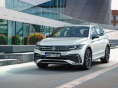 The Tiguan Allspace has been updated with a fresh new look