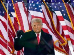 Former US president Donald Trump (AP/Jacquelyn Martin, File)