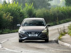 The i30 corners well and remains comfortable