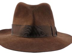 A fedora worn by Harrison Ford in Indiana Jones And The Temple Of Doom could whip up bids of as much as £176,000 when it goes under the hammer (Prop Store/PA)