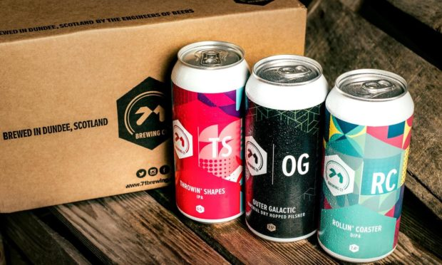 71 Brewing Throwin' Shapes as Sainsbury's deal sees beers stocked by 22 Scottish stores