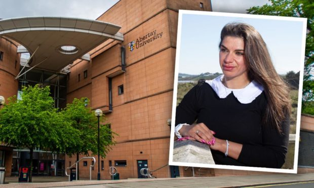 Abertay student at the centre of 'women have vaginas' row to sue university