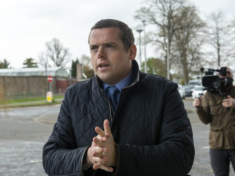 Scottish Conservative leader Douglas Ross made clear he expected the Lord Advocate should block any attempts (Trevor Martin/PA)