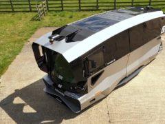 The Aurrigo driverless shuttles have a maximum speed of 20mph (Greater Cambridge Partnership/Aurrigo)