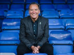 Sky Sports presenter Jeff Stelling hopes football grounds will soon be full of fans again (Prostate Cancer UK Handout/PA)