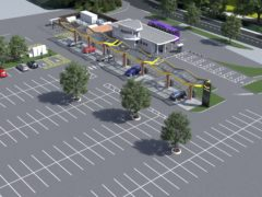 The new charging site will provide 38 chargers