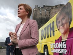 Nicola Sturgeon said she was the only politician offering 'serious leadership' (Russell Cheyne/PA)