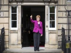 Nicola Sturgeon is reshuffling her cabinet after the SNP's Scottish election victory (Jane Barlow/PA)