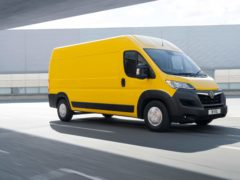 Vauxhall has completed its line-up of electric vans with the new Movano-e