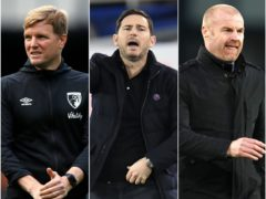 Eddie Howe, Frank Lampard and Sean Dyche have all been linked with the job at Crystal Palace (PA)