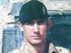 Lance Shingler had served with the British Army until 2007, including deployment to Iraq (family handout/PA)