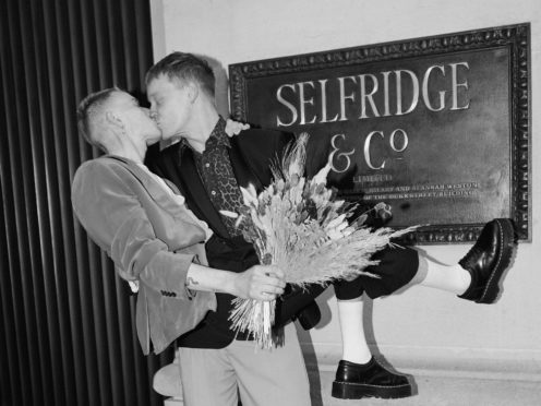 Couples can get married at Selfridges this summer (Selfridges/PA)