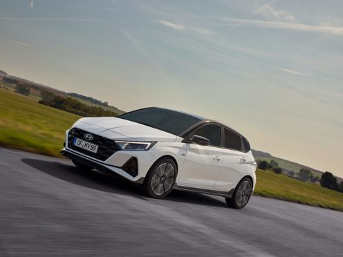 The i20 N Line boasts a range of dynamic-looking touches
