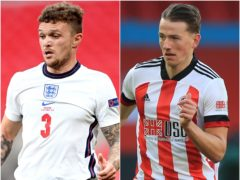Could Kieran Trippier (left) and Sander Berge be moving on? (Nick Potts/Mike Egerton/PA)