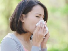 Hayfever affects thousands of people each year