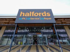 Halfords has notched up a 72% jump in annual profits as sales of bicycles and e-scooters soared amid the pandemic (Halfords/PA)