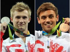 Jack Laugher and Tom Daley (PA)