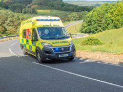 Making sure you give plenty of space for an ambulance is important