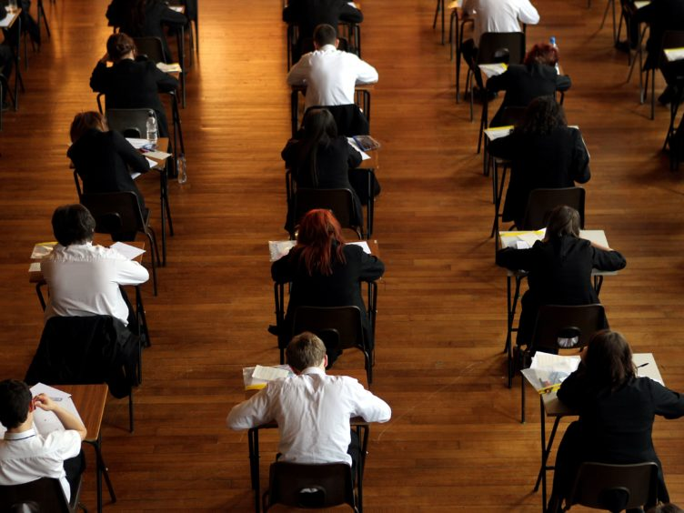The Scottish Government announced a review of the exam body earlier this month (David Davies/PA)