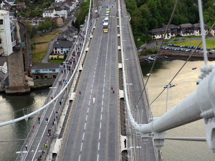 Tamar Bridge (Tim Ireland/PA)