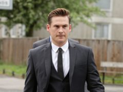 Blue star Lee Ryan is charged with two speeding offences (Yui Mok/ PA)