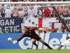 David Seaman's error cost England dear in their World Cup clash with Brazil in 2002 (Kirsty Wigglesworth/PA)