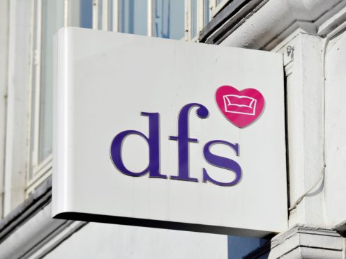Sofa retailer DFS has seen a 92% surge in orders for the past 10 weeks compared with pre-pandemic levels (Nick Ansell/PA)