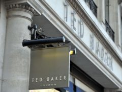 Ted Baker's shops were closed for months last year (Nick Ansell/PA)