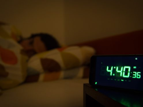 People with frequent sleep problems are at a higher risk of dying than those without sleep problems, researchers have said (Dominic Lipinski/PA)
