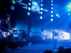 Radiohead on stage (David Jensen/PA)