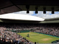 Wimbledon's Centre Court is set to be full for next month's men's and women's singles finals (Adam Davy/PA)