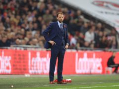 England caretaker manager Gareth Southgate during the 2018 FIFA World Cup qualifying, Group F match at Wembley Stadium, London.