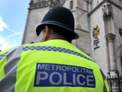 A Metropolitan Police Service officer (Nick Ansell/PA)