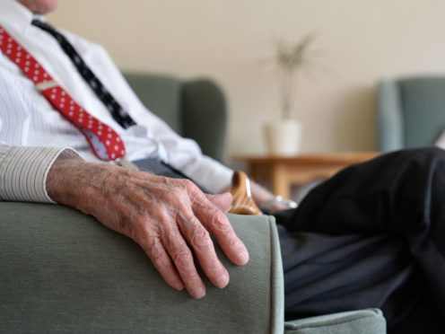 Only one in three people have made financial plans for the possibility of needing long-term care, according to specialist lender Hodge (Joe Giddens/PA)