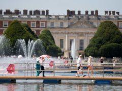 The Hampton Court Flower show is set to go ahead next month (Steve Parsons/PA)