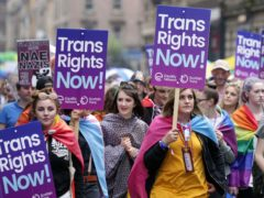 Nicola Sturgeon voiced her support for the trans community (PA)
