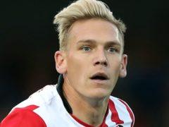 Danny Wright scored twice as Torquay beat Notts County (Andrew Matthews/PA)