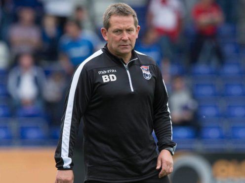Billy Dodds will step up from his assistant manager role to be new head coach at Inverness (Jeff Holmes/PA)