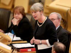 Shona Robison says losing the £20 uplift was a 'massive threat' (Jane Barlow/PA)