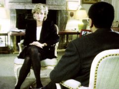 Diana during her interview with Martin Bashir for the BBC (BBC)
