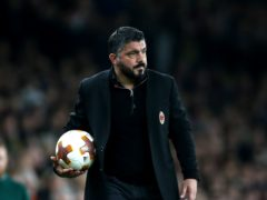 Gennaro Gattuso has left Fiorentina after just 23 days in charge (PA Archive)