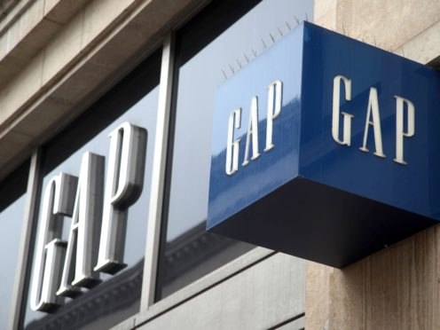 A branch of Gap on Oxford Street, central London. The retailer is to shut 19 UK and Ireland stores (Yui Mok/PA)