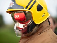 Firefighters tackled the blaze in Pollokshields (Jane Barlow/PA)