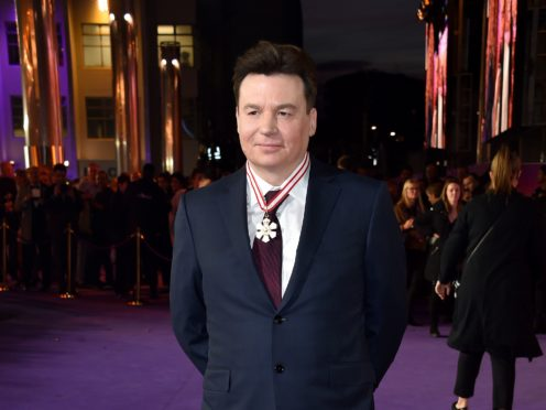 Mike Myers will play seven characters in a new comedy series about a secret society, Netflix announced (Matt Crossick/PA)