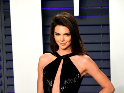 Kendall Jenner hit back at the so-called Kardashian curse said to affect men who date the famous sisters (Ian West/PA)