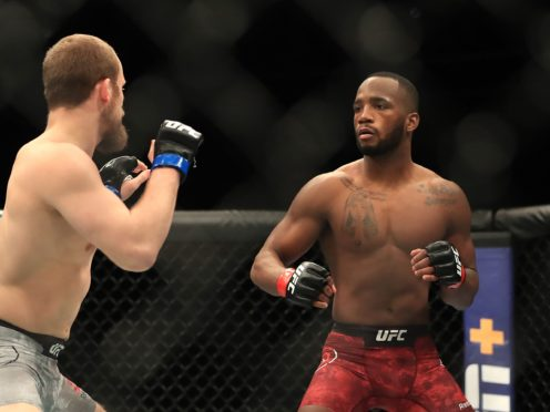Leon Edwards is determined to earn a world title shot (Simon Cooper/PA)